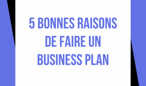 Faire un business plan : 5 bonnes raisons