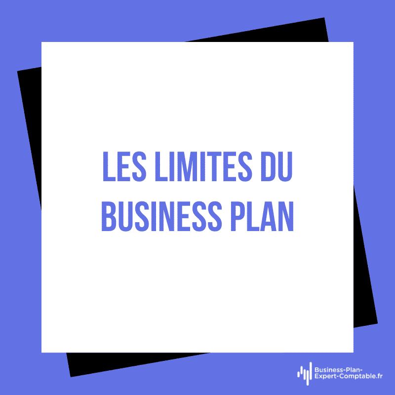 Les limites du Business Plan
